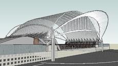 Liège Guillemins TGV Station (Belgium) Roof Inspiration