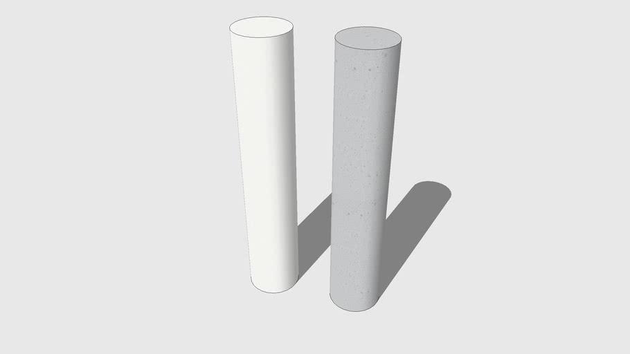 Skum Acoustics - Rör - Basotect sound absorber cylinder