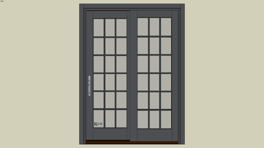 "Kolbe Ultra Garden-Aire Patio Door GAU41166 (F.S. 4'-11"" x 6'-7 15/16"" R.O. 4'-11 1/2"" x 6'-8 7/16"")"