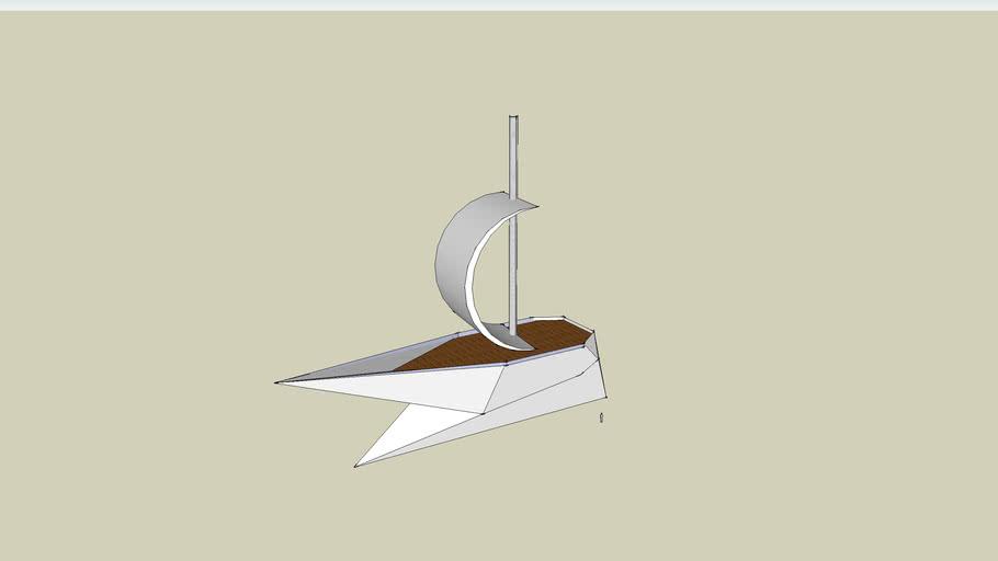 Modern Ship Model