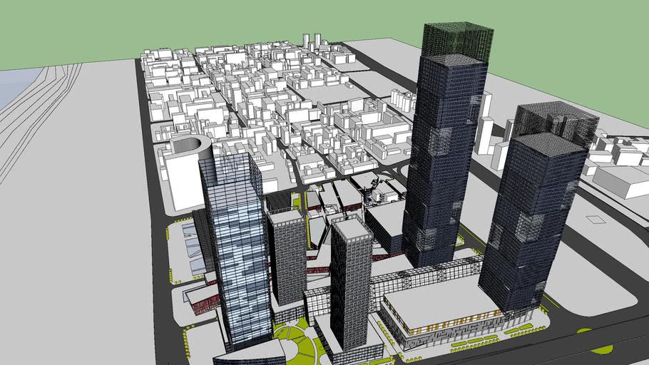 complejo comercial y oficinas
