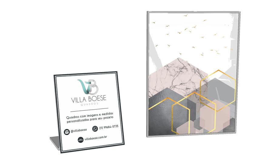 Quadro - Bloco dinâmico - Villa Boese Quadros #64