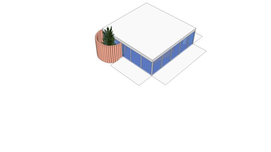 Paper House Shigeru Ban