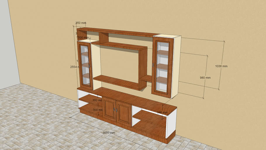 Modern TV Cupboard