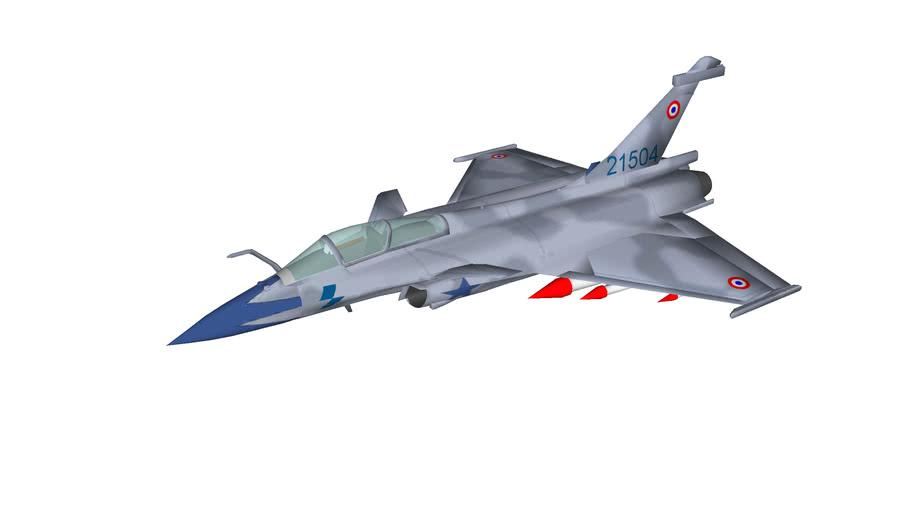 avion de chasse Rafale C Dassault