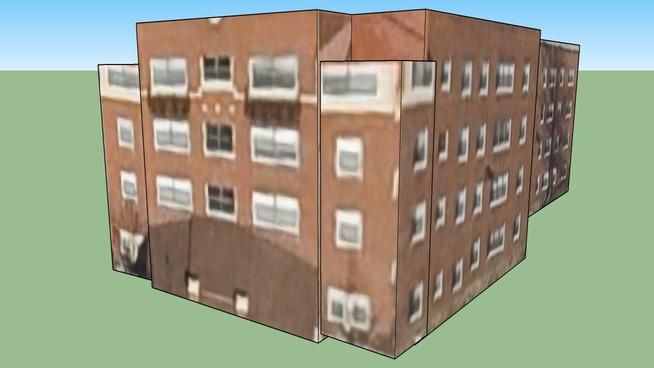 Apartment Building in Kansas City, MO, USA