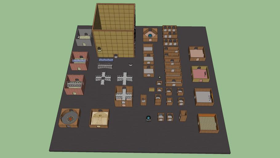 3D Maze Construction Set Updated