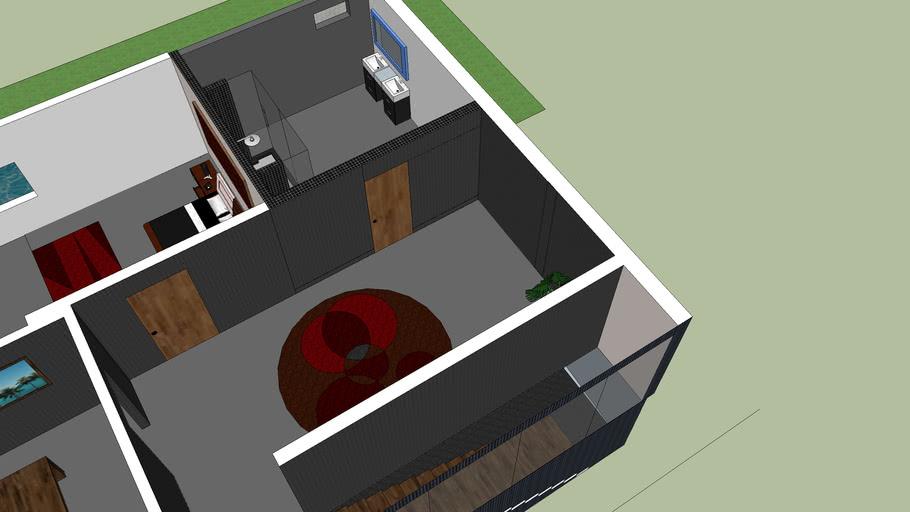casa moderna con acabados modernos por marlon mero