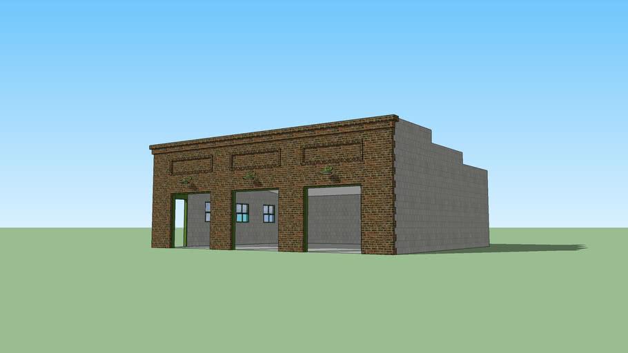 Judey's new garage