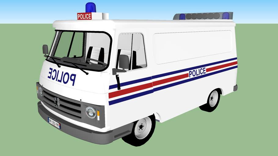 Police National Française Peugeut J9