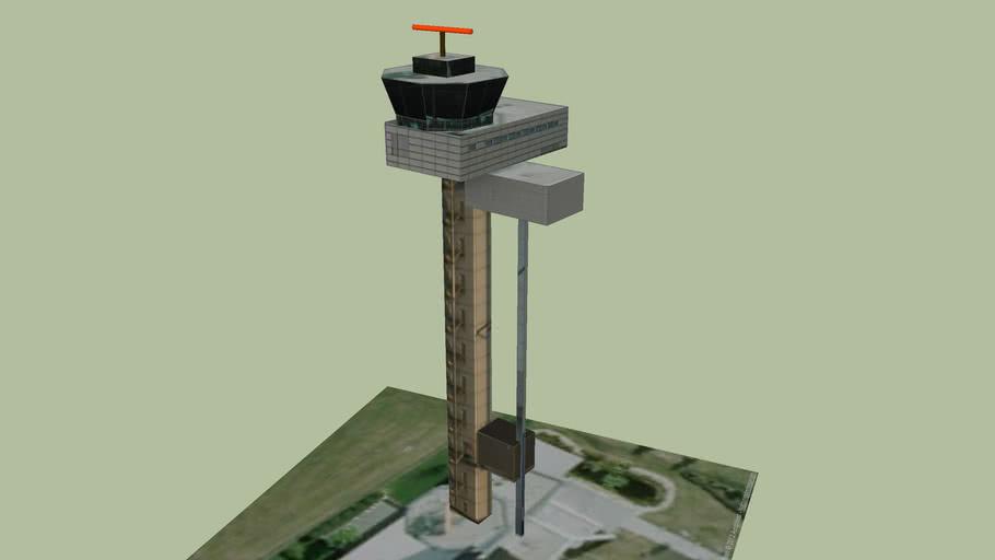 Tower Flughafen Leipzig Halle