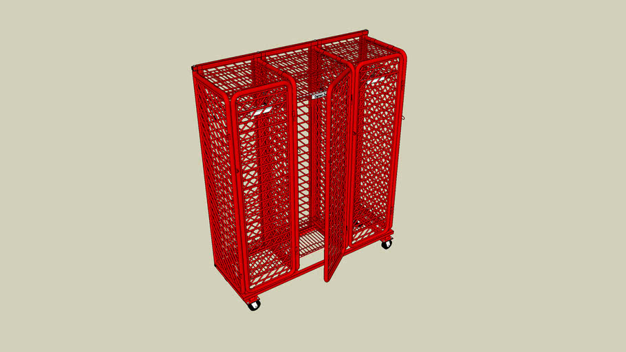 Mobile Ready Rack with Security Option