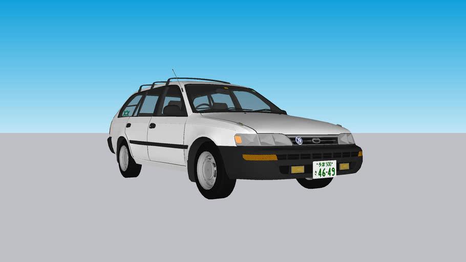 1992 Toyota Corolla Van (update)