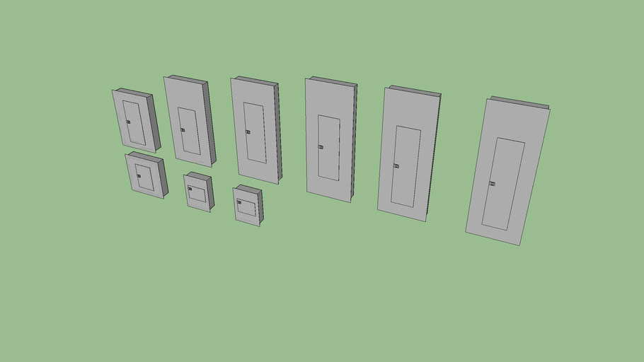 Load Centers (Low Poly)