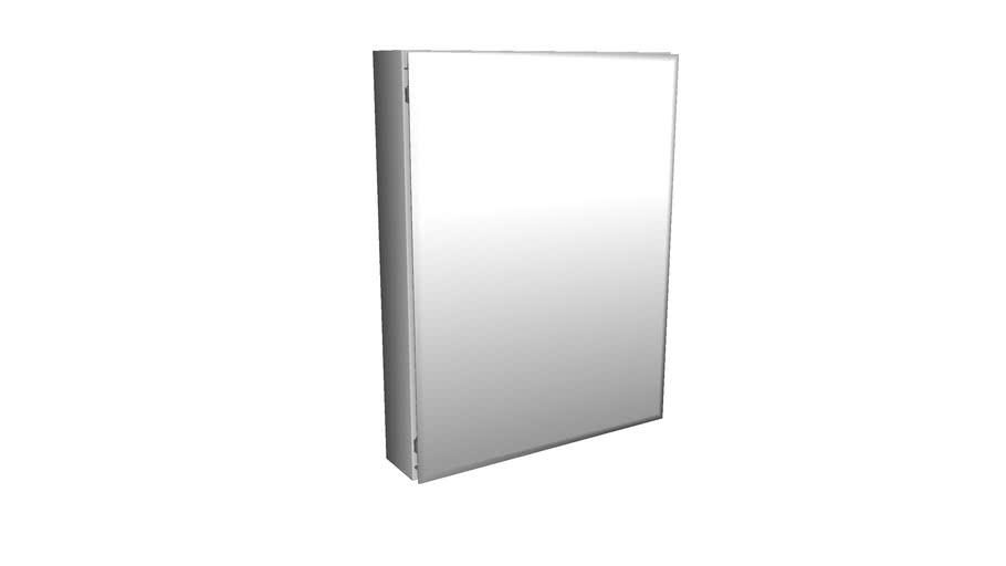 26 H Aluminum Single Door