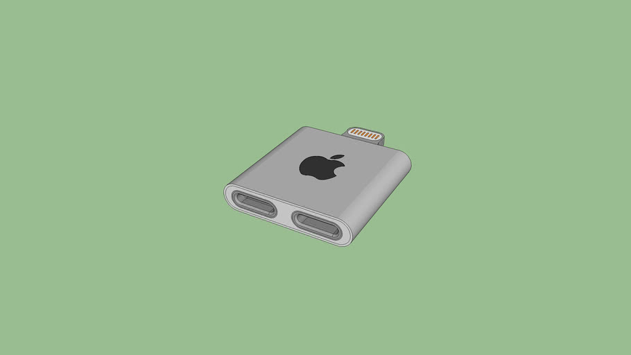 Concept Adaptateur lightning IPhone 7