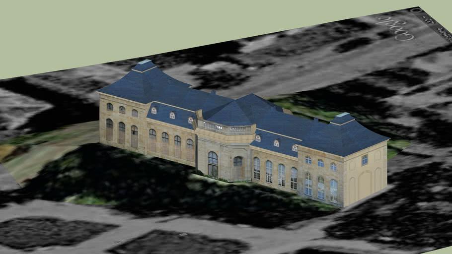 Lorbeerhaus, Orangerie Gotha