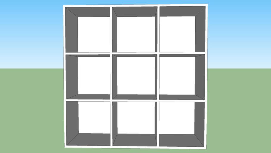 plain or white cube 9