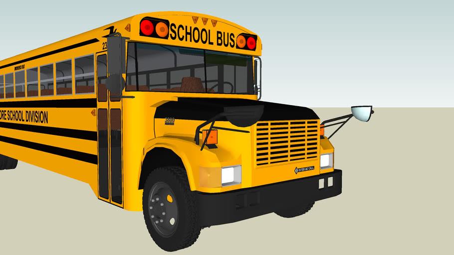 Blue Bird International School Bus