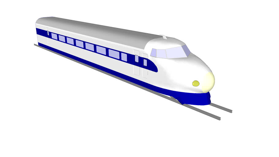 Shinkansen 0 Series - 0系 新幹線