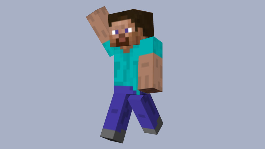 Minecraft Steve 3d Warehouse