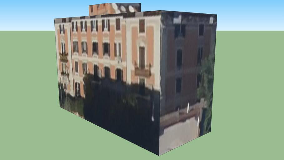 Byggnad på Rom, Italien