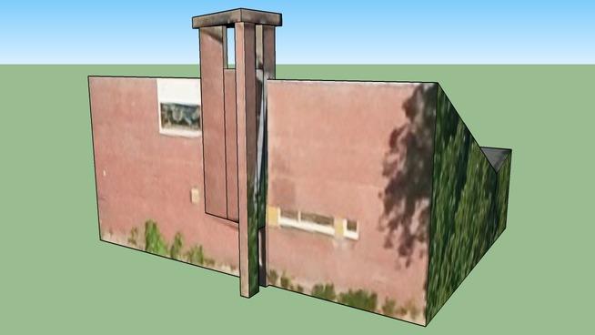 Building in 1058 EE Overtoomseveld, The Netherlands