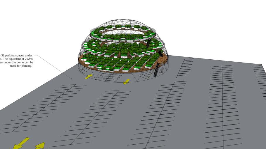 Parking Lot Garden Dome