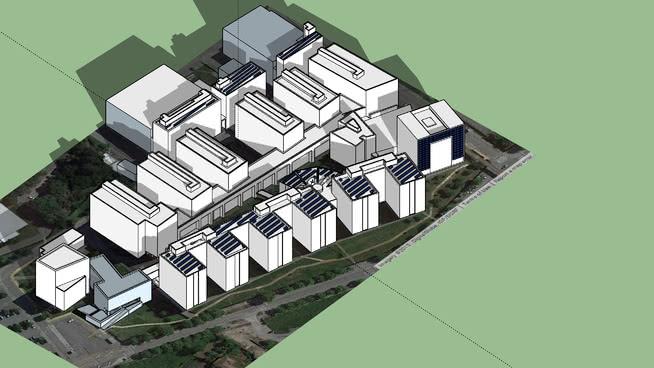 Solar project of FEUP - Faculdade de Engenharia da Universidade do Porto - 2015