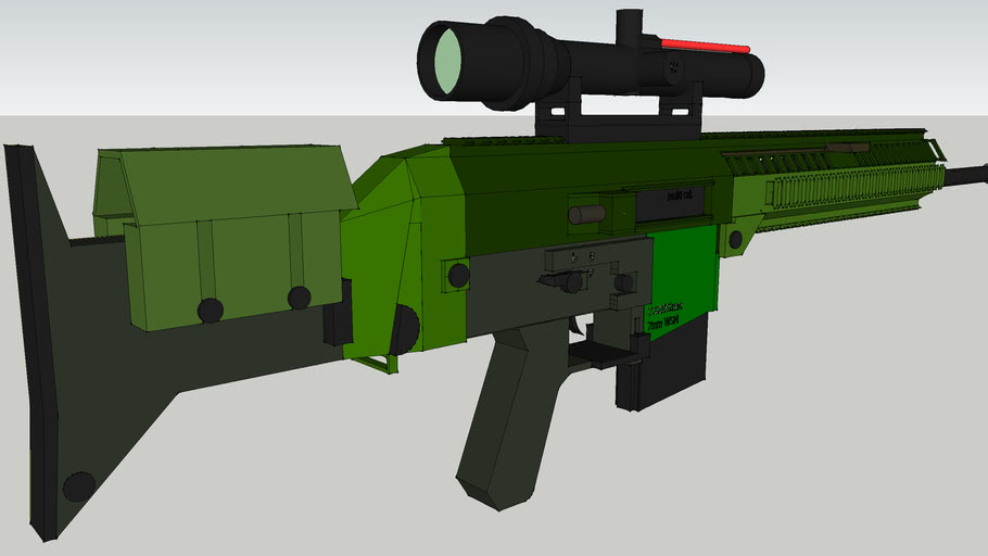 7.62mm rifle