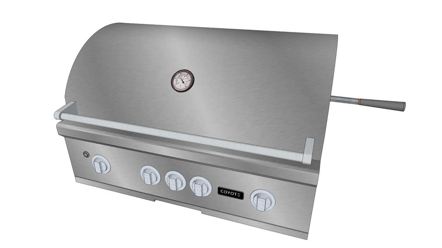 36″ S-Series Grill - Coyote Outdoor Living, Inc.   3D ... on Coyote Outdoor Living Inc id=19939