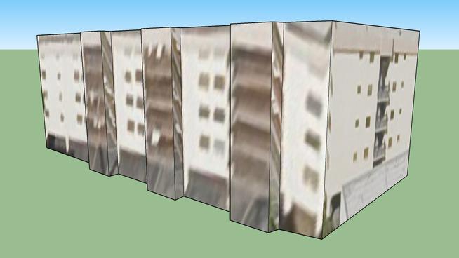 Construção em Miami Beach, FL, USA