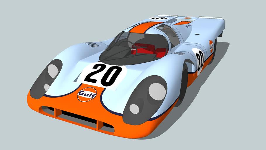 "Porsche 917K - ""Le Mans"" Steve McQueen"