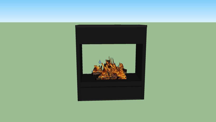 CB 2 side Fireplace