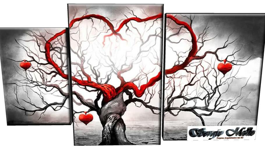 Quadro de Parede Coração
