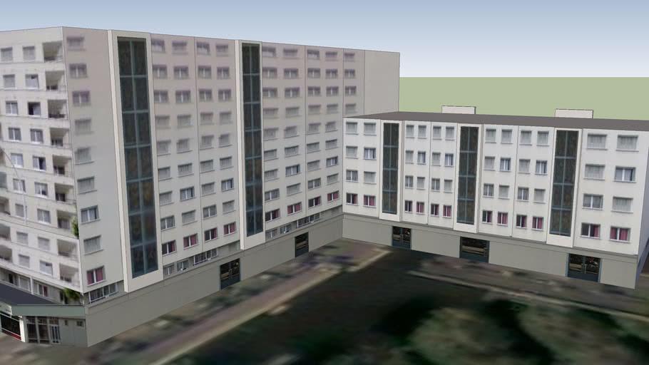 Immeuble à Annecy: Le Mail ,chemin des fins nord et rue maréchal leclerc