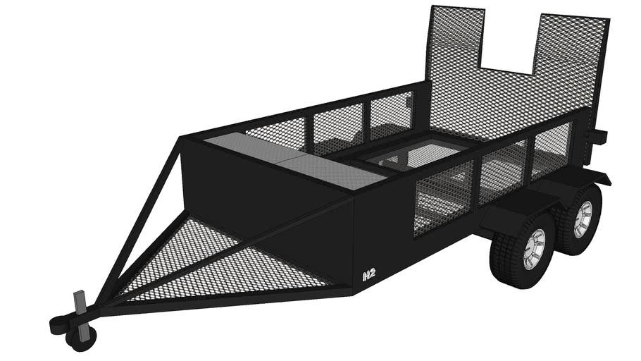 Hummer h2 custom trailer