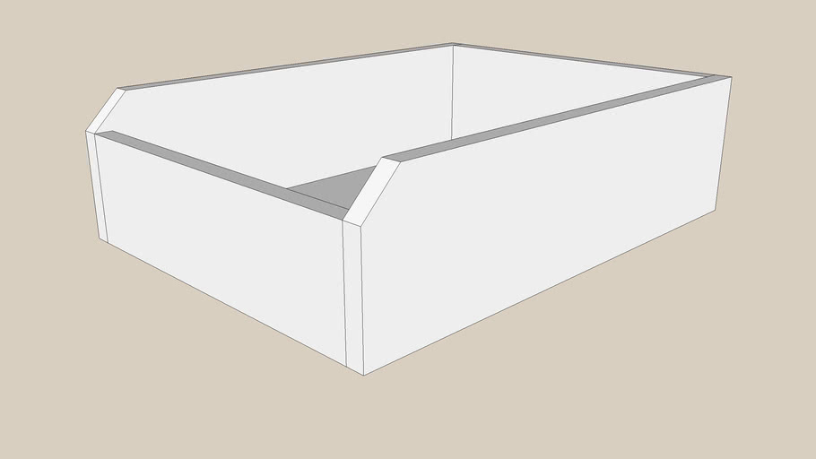KOMPLEMENT drawer 50x58 white