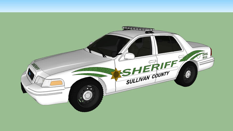 Sullivan County TN Sheriff Crown Victoria Interceptor