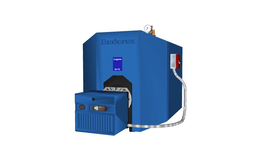 Buderus Logano G115 boiler