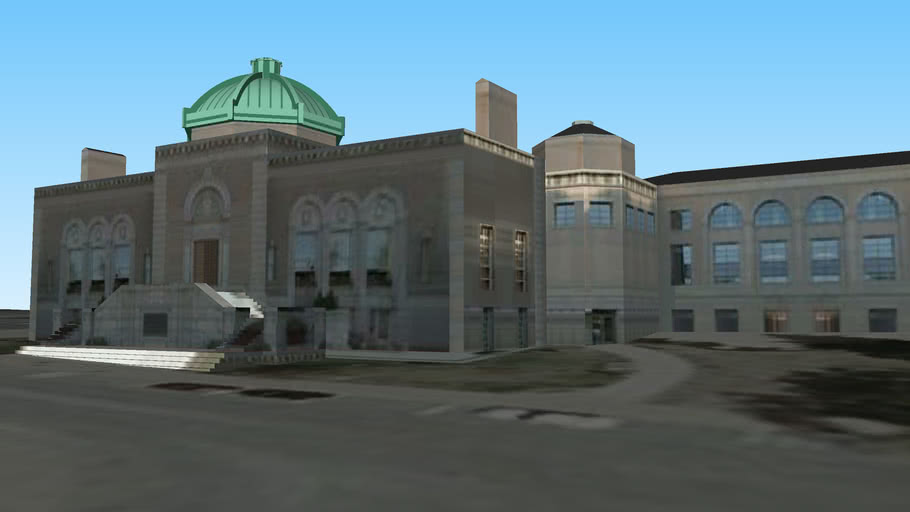 バンゴア公共図書館 Bangor Public Library