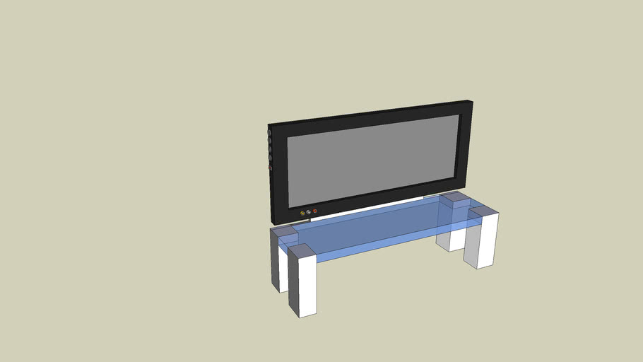 T.V. With Stand
