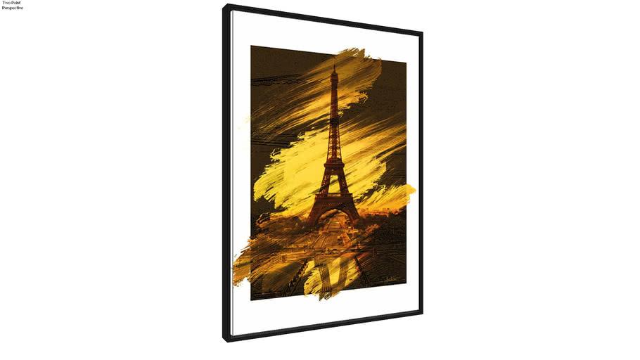 Quadro Paris Pencil Art