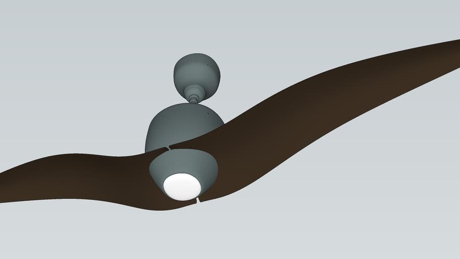 SEAGULL CHAMELEON - Designer Fan by Fanzart VRAY Ready Fan