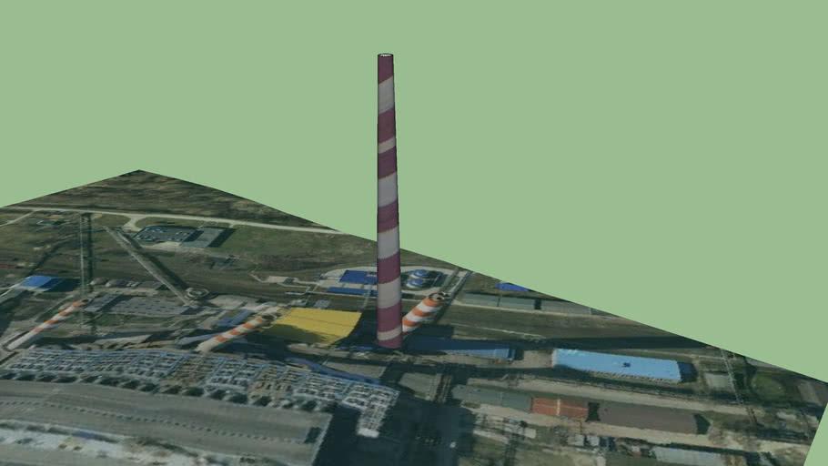 Komin Elektrowni Skawina