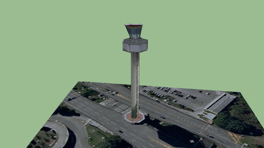 Rio International Airport Control tower
