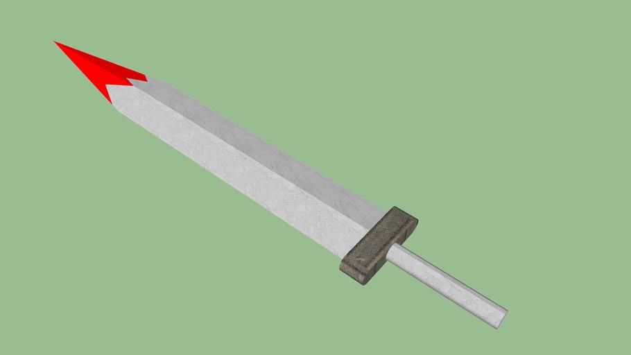 épée de marbre
