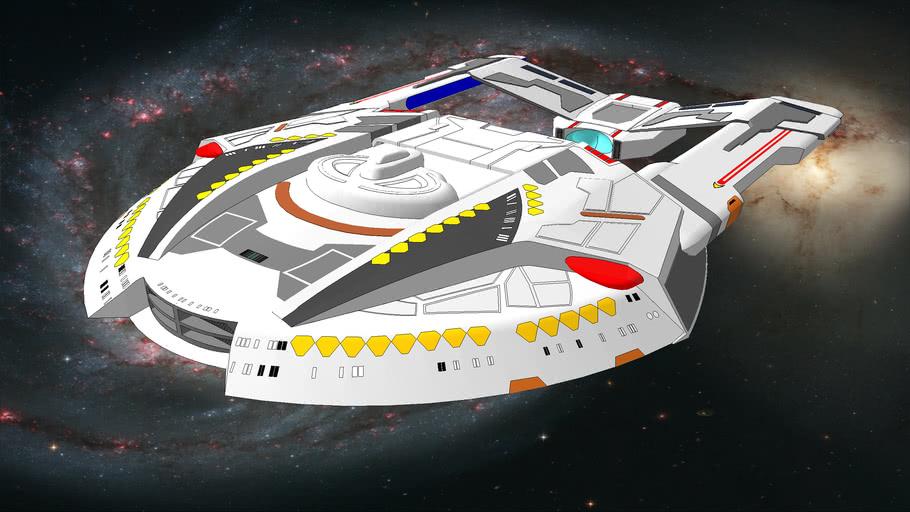United feration of planets starship class Stream Runner