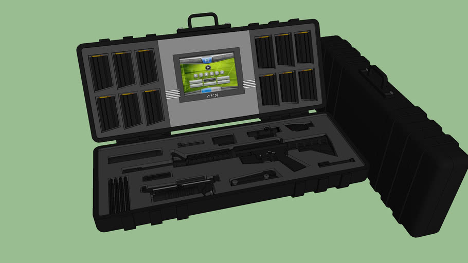 M4 Carbine (Custom-build) Weapon Case