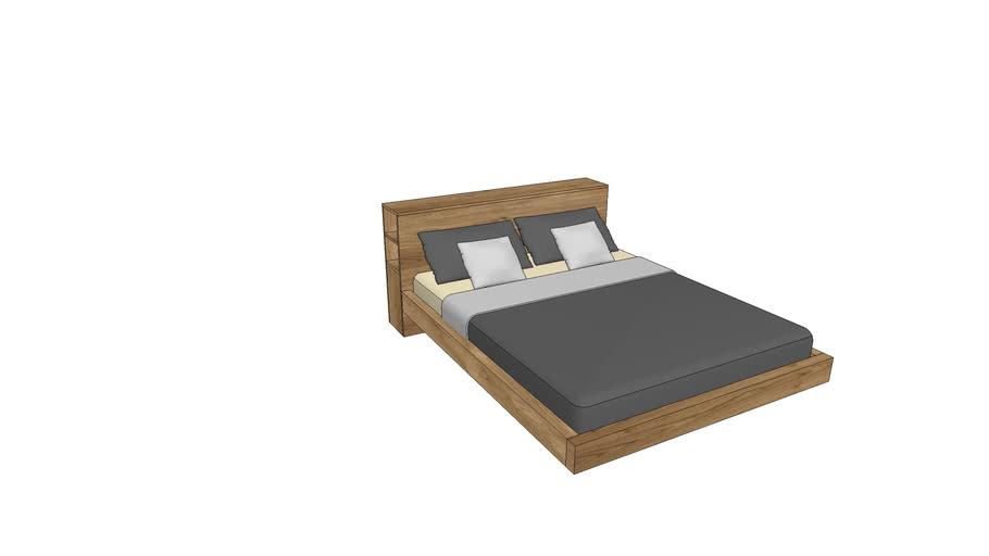 LE730, Lecco Bed 160x200cm